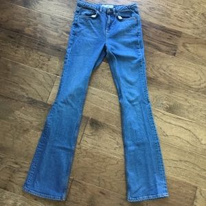 Topshop flare jeans
